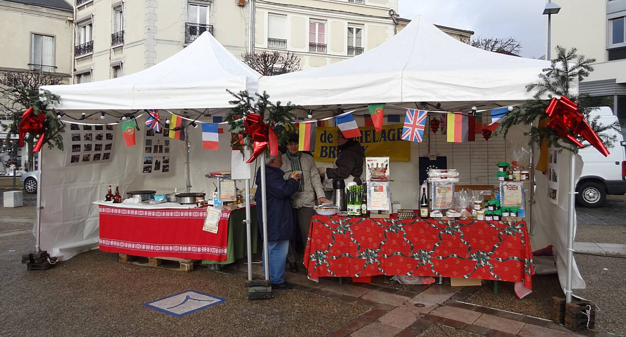 stand marché noel 2012